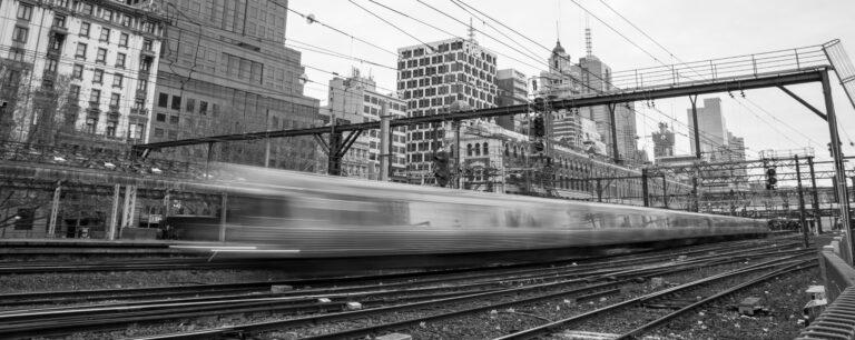 Train Blur High Speed